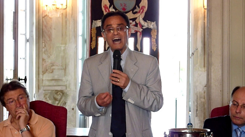 Conferenza di Magdi Cristiano Allam a Villa Durazzo, Santa Margherita Ligure, parte 6.<br /> <br /> Nuovi interventi di Luigi Ceffalo, Paolo Maria Solari, Roberto De Marchi.