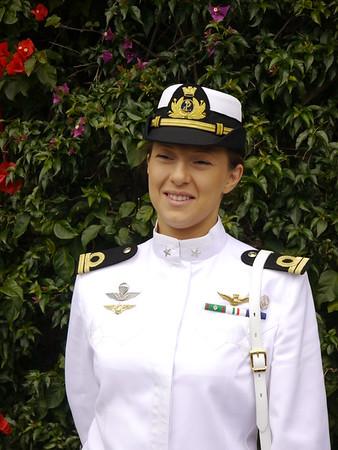 Daniela Giordano, prima donna ufficiale pilota della marina Militare Italiana