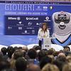 Emma Marcegaglia al 41° Convegno dei Giovani imprenditori di Confindustria a Santa Margherita Ligure