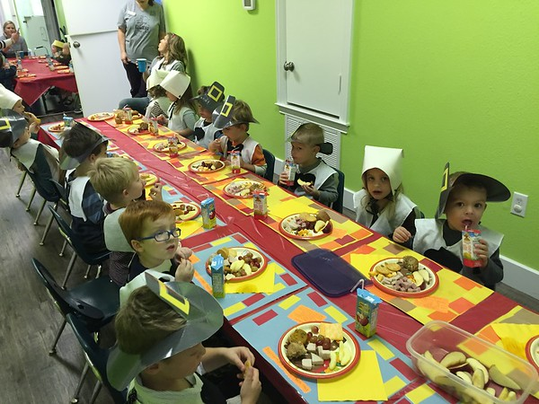 Lil' Cats Thanksgiving Feast 2015