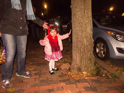 Lila Celebrating 2011 Halloween
