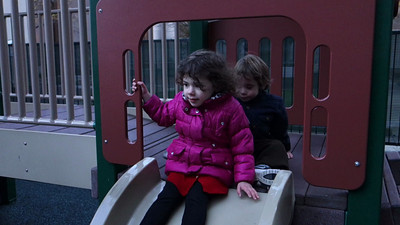 Lila, Victoria and Zander on a Playdate - 18 Nov 2012