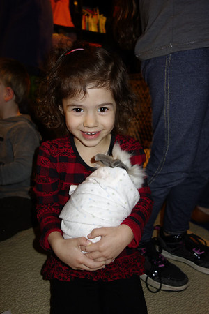 Lila with Baby Animals Nov 2012