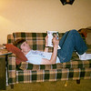 76 - Bob relaxing on his couch