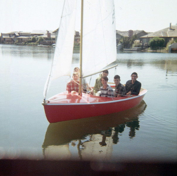 65 - Liles family in Normans boat