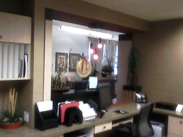 Catherines office in Fresno