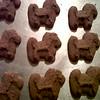 Christmas Kenya puppy dog cookies