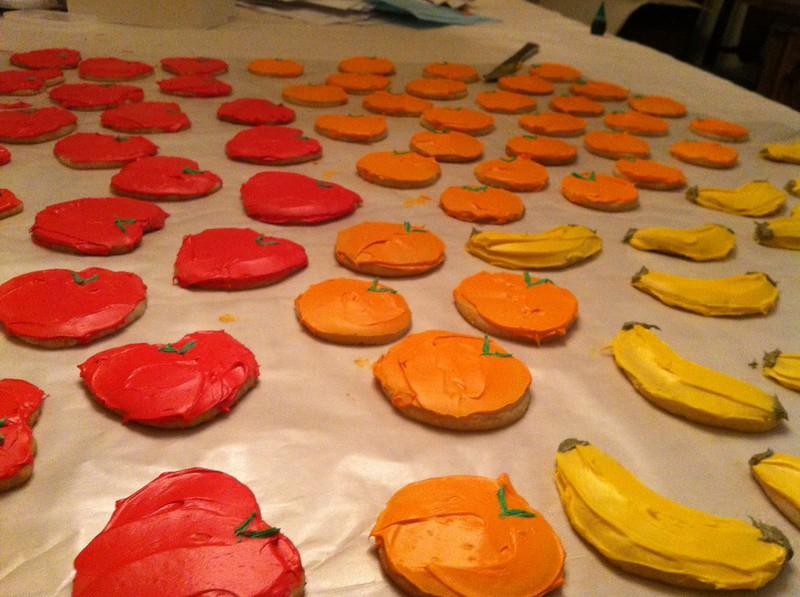 Suzy fruit cookies