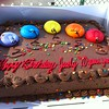 Judy Griffith birthday cake
