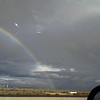 Double rainbow driving to LA