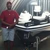 Clinton Preston and new boat