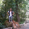 Cindy camping - Susan Creek OR