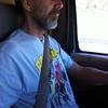 Bob driving home