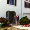 Lisa at new SF house