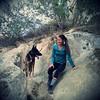Kenya and Cindy at Mt  Diablo Castle Rock