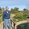Grandpa at Japanese garden in LA