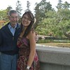 Cindy & Grandpa at Japanese garden in LA - 2
