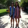Cindy graduation - Cindy and Natalia