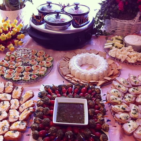 Betty Scott retirement party - food3