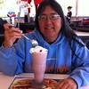 Mother's Day Red Velvet milk shake