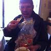 Bob eating guacamole