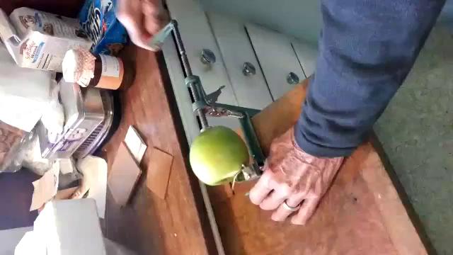Gpa peeling apples