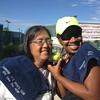 Jane and Tracy Preston - tennis winners