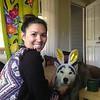 Suzy & Dexter the Easter Husky
