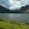 Cindy's camping spot at Glacier Natl Park