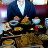 Gpa eating tempura