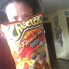 Lisa and cheetos