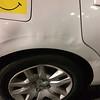 Lisa's car damage1 2-17-15