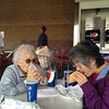 Costco dog3 - Grandma and Shirley back eating