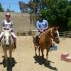 Cindy-Erick horseback riding lesson 20150712