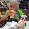 Grandma costco dog and dessert 6-19-2015