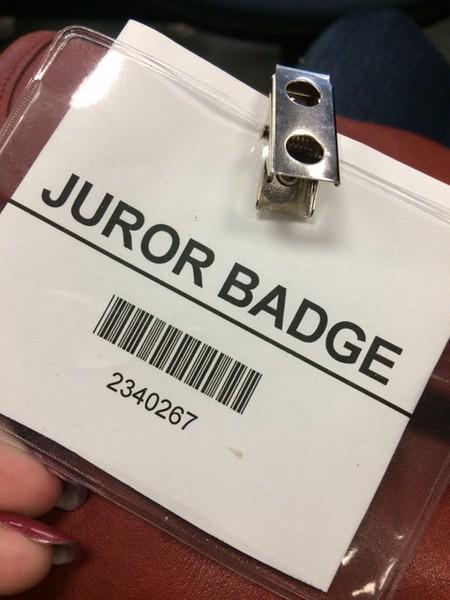 Lisa jury duty 5-8-2015