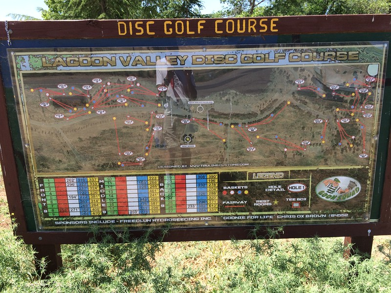 Lagoon Valley disc golf course