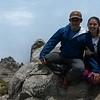 Cindy and Erick on big rock1