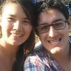 Cindy and Erick - close up