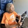 Grandma breathing exercises