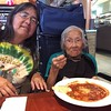 Grandma and Jane at lunch