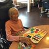 Grandma with puzzle