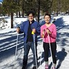 Cindy and Erick skiing