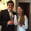Cindy and Erick with flutes