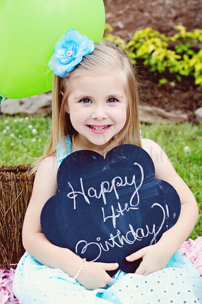 Lilly 4th Birthday