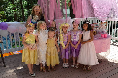 Lilly Rose princess party