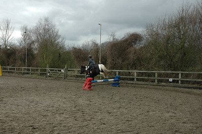Tim and Sophie's Jumping Lesson