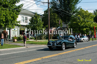 Thursday Parade - Lime Rock Vintage Weekend - Thursday August, 29, 2013