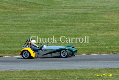 Lime Rock Vintage Weekend - Friday 2012 - Paul Stinson - Lotus Super 7