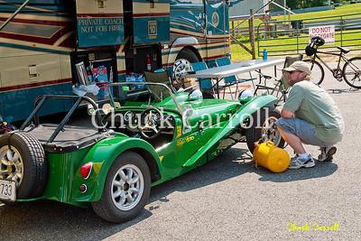 Lime Rock Vintage Weekend - Thursday Parade